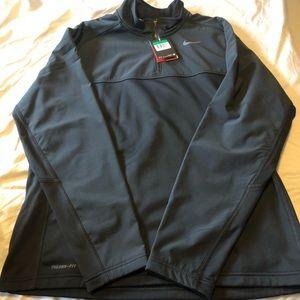 Nike full zip light weight fleece shell